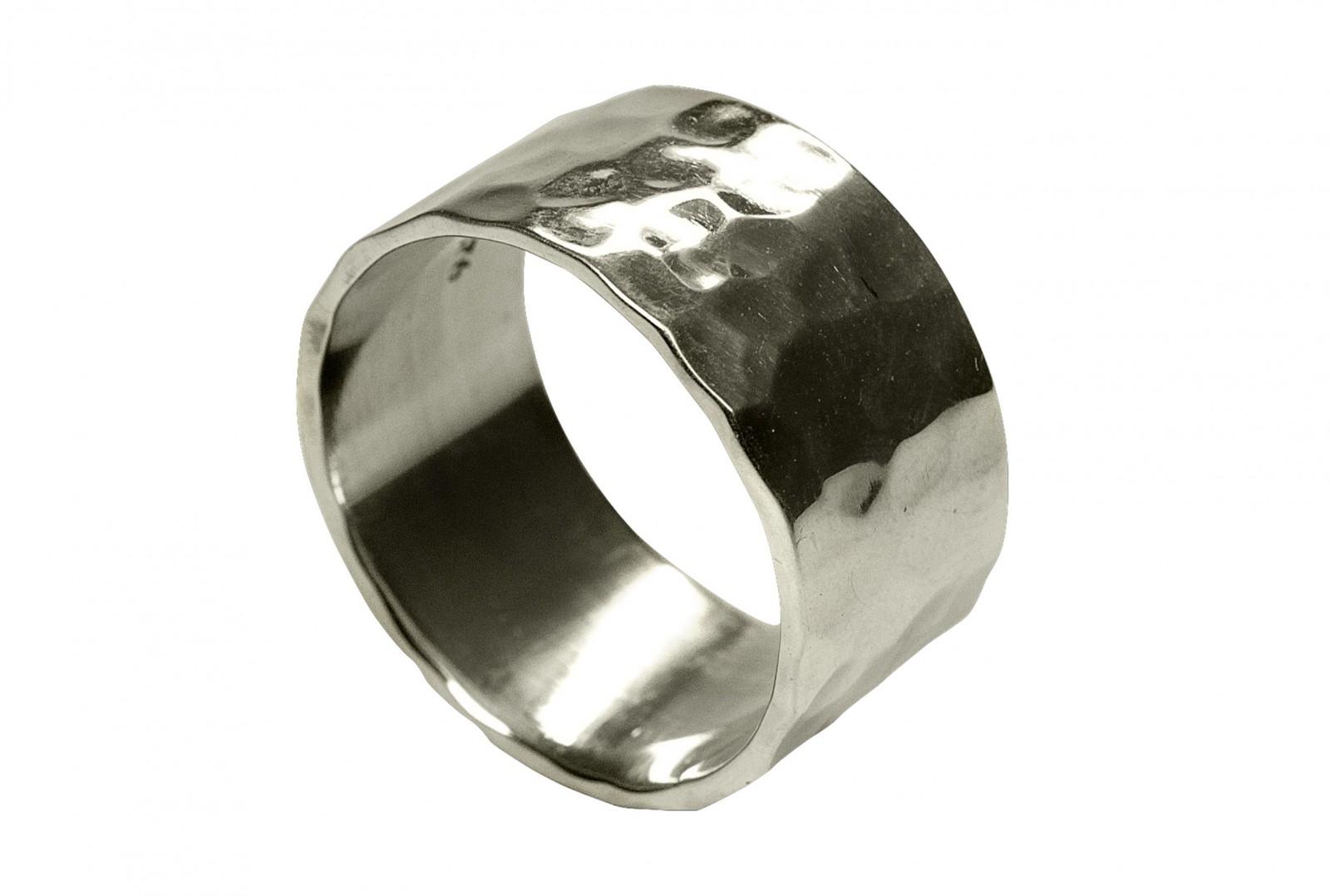 SILBERMOOS XL Ringe in großen Größen Damen Herren Band-Ring ...